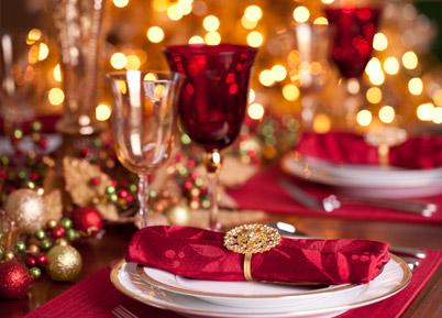 corso di allestimento e decorazione della tavola di natale a ... - Decorazioni Natalizie Tavola